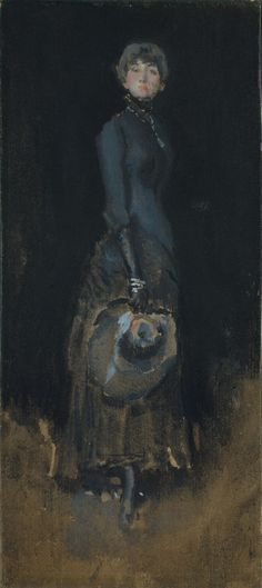 Lady in Gray James McNeill Whistler 1883