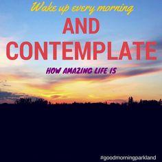 #goodmorningparkland #morningmotivation