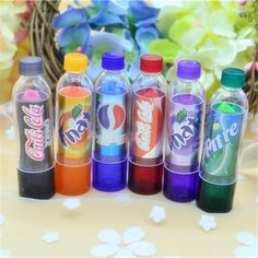 Aliexpress.com: Comprar Cambian de Color pintalabios maquillaje 6 unids/set Cola Cola Dulce Lindo Tenue Aroma Hidratante Bálsamo para Los Labios de Maquillaje XZ32 de Bálsamo para los labios fiable proveedores en You Worth it Store