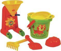 Eimergarnitur 6 Teilig Measuring Cups, Ava, Bucket, Toys, Birthday, Sandbox, Group, Plastic, Activity Toys