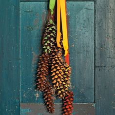 Giant Pinecones - great craft idea for the kids