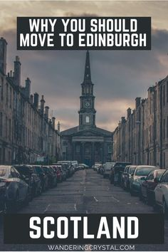 Why you should move to Edinburgh, Scotland. 23 reasons you should move to Edinburgh. Moving to Edinburgh Scotland, pros and cons of living in Edinburgh, reasons to live in Edinburgh, expats in Scotland, moving to Scotland, wandering crystal, living abroad in Scotland, moving to Scotland from Canada, why Edinburgh is a great place to live, how to find a flat in Edinburgh, living in a city with a castle, moving to Scotland from US #Edinburgh #Scotland #Expat #LivingAbroad #wanderingcrystal Moving To Scotland, Scotland Road Trip, Scotland Uk, Scotland Travel, Croatia Travel, Thailand Travel, Bangkok Thailand, Italy Travel, Edinburgh Travel