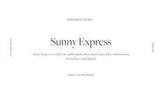 Sunny Express on Behance