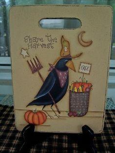 Primitive Cutting Board....Design by Sharon Bond