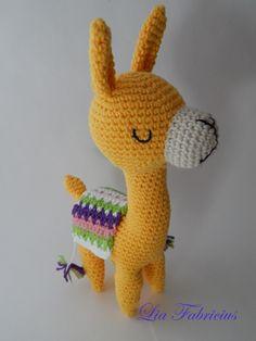 Alpaca Crochet #picapau