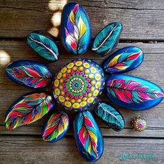 Рисунки или росписи на камнях как вид изобразительного искусства