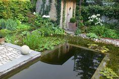 Garten H, Baden bei Wien | Landschaftsarchitektur Schmidt Rennhofer Schmidt, River, Outdoor Decor, Plunge Pool, Landscape Diagram, Rivers