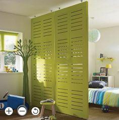 Ikea Room Divider, Bedroom Divider, Room Dividers Kids, Small Room Divider, Room Divider Bookcase, Decorative Room Dividers, Space Dividers, Superior Room, Ideas Hogar