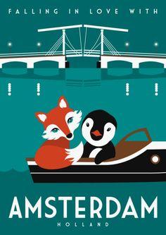 amsterdam by Mingface