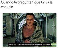 ★★★★★ Memes muy graciosos en español: ¿Qué tal va la escuela? I➨ http://www.diverint.com/memes-graciosos-espanol-escuela/ →  #memeschistosísimos #memeschistososfacebook #memesderisaburlona #memesdivertidos2016 #memesgraciososdepersonas