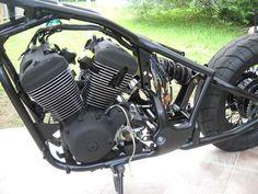 VLX Super Bobber - Page 2 - Shadowriders Honda Shadow Bobber, Honda Bobber, Sportster Motorcycle, Tracker Motorcycle, Bobber Bikes, Yamaha Motorcycles, Moto Bike, Motorcycle Design, Bike Design