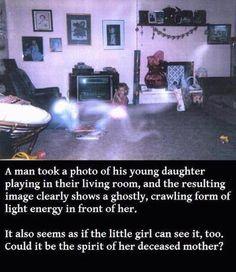Foto's van echte spoken gevangen per ongeluk..