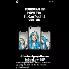 Toni And Guy, Soft Waves, Hair Care, Product Description, Instagram, Hair Makeup, Hair Treatments, Loose Waves