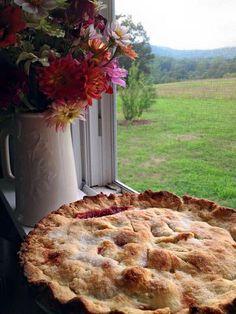Pie cooling in a window