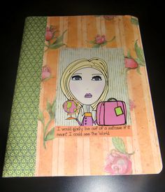 Notebook by michelewithasingleL on Etsy, $5.00