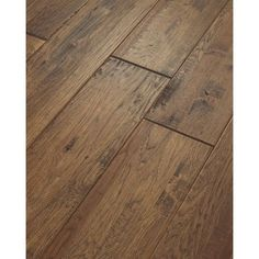 Shaw 8-in W Prefinished Hickory Engineered Hardwood Flooring (Castel Hickory)