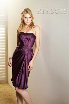 CHARMEUSE-BELSOIE-STYLE-4021-MOB/ GROOM -DRESS-SIZE-12