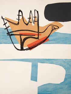 Le Corbusier, Poème de l'angle droit, 1955. Lithografie