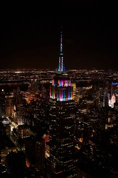 12.31.14 The Empire State Building rings in 2015
