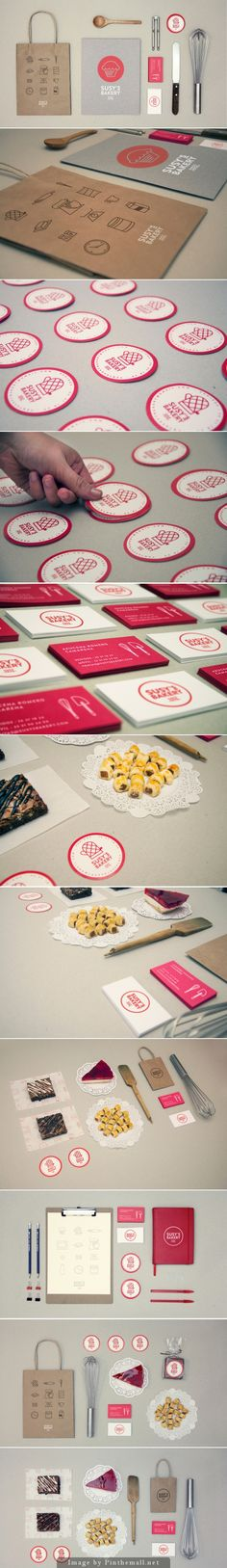 Susy's Bakery. Let's eat #identity #packaging #branding PD