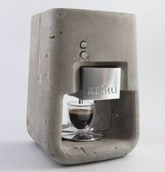 Halter für Kaffee Filter + kupfer