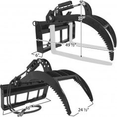 The Titan heavy duty hydraulic pallet fork grapple is ideal for helping to secure medium to tall loads. Farm Projects, Welding Projects, Tractor Accessories, Baskets For Men, Wood Chipper, Tractor Implements, Tractor Attachments, Yard Tools, Belt Grinder