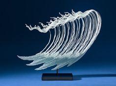 Flowing Glass Sculptures Inspired by the Ocean and Undersea Creatures - K. William LeQuier