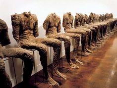 "Magdalena Abakanowicz, ""Seated Figures,"" 1974-79"