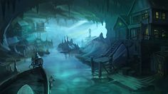 Sunless Sea by scerg