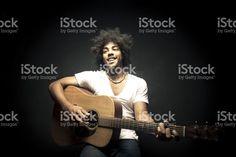 Guitarrista foto royalty-free