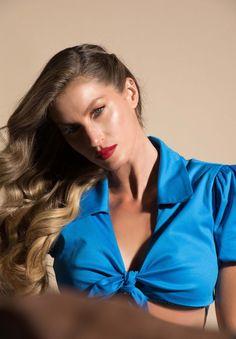 Gisele Bündchen encarna uma musa pin-up em nova campanha 92f83562c160d