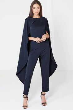 TOPSHOP Cape Jumpsuit by Lavish Alice