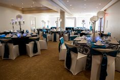 Beautiful Banquet hall at Retro Suites. http://www.weddingshows.com