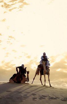Atardecer en el Festival au Desert, Essakane - Sunset Festival au Desert, Essakane (January 2004) www.vicentemendez.com