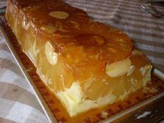 Uma verdadeira delicia esta receita de Pudim de Ananás. Em 45 minutos terá uma óptima sobremesa.