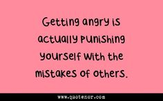 How to Understand and Release Anger