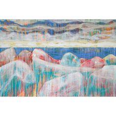 """Kiss Me Rocks"" by Helen Billett;  Giclée on Canvas;   24"" x 16"";  I found this on www.meringueinc.ca"