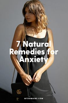Natural ways to cure anxiety