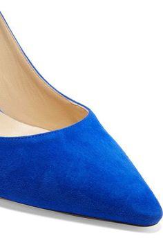 Jimmy Choo - Romy Suede Pumps - Cobalt blue - IT