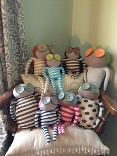 Louise sent us this lovely picture of her Ruby Ruth Family :)