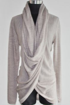 Convertible Draped Cardigan by Girlfriends Material