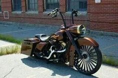 "30"" front wheel bagger"