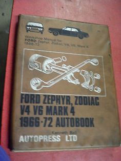 Ford #zephyr #zodiac mk4 1966 - 72  v4 v6  autopress workshop #manual,  View more on the LINK: http://www.zeppy.io/product/gb/2/391552474779/
