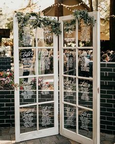 Wedding doors, Seating plan wedding, Seating chart wedding, Wedding seating, Wedding ideas Wedding table planner - Here are 23 trendy wedding ideas for from Stay Glam Are you a bride to be - Wedding Ideas 2018, Plan Your Wedding, Wedding Trends, Trendy Wedding, Diy Wedding, Wedding Planning, Spring Wedding, Rustic Wedding, Elegant Wedding
