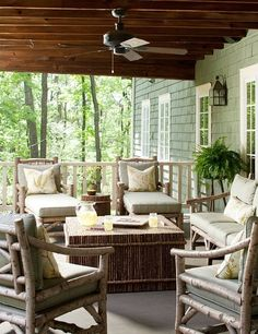 3 Reasons Fans Aren't Just for Indoors! #ceilingfan #patio
