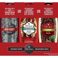 Old Spice Body Wash Variety Pack 16 fl oz 3 pk -- This is an Amazon Affiliate link. Be sure to check out this awesome product.