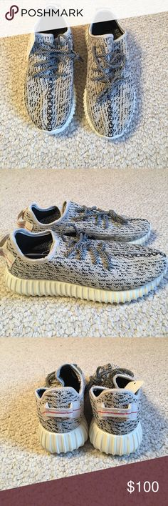1cb8baa50f906 Adidas yeezy boost 350 Yeezy Boost 350s in turtle dove. Adidas Shoes  Sneakers Athletic Outfits