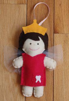 Felt Tooth Fairy Doll