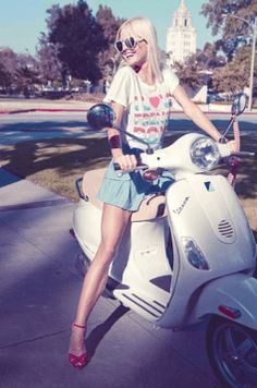 Scooter Girl Vespas 33  One of the best built hoverboards I have seen  http://amzn.to/2i1DLfj