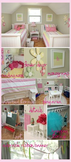 Perfect for my two girls!! #roomandboard, #yolocolorhouse, #annies